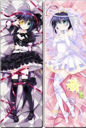 Love, Chunibyo & Other Delusions Chuunibyou demo Koi ga Shitai! - Rikka Takanashi Anime Dakimakura Pillow Cover