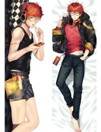 Mystic Messenger - Saeyoung Luciel Choi Saeyoung Choi Defender Of Justice 707 Anime Dakimakura Pillow Cover