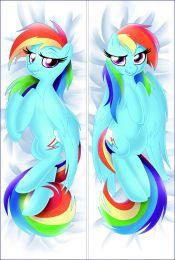 Hot Anime MLP My Little Pony: Friendship Is Magic Derpy Hooves Anime Dakimakura Pillow Cover