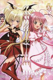 Shugo Chara!-  Amu Hinamori + Utau Hoshina Anime Dakimakura Pillow Cover