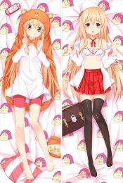 SM1627 Himouto! Umaru-chan Umaru Doma Anime Dakimakura Japanese Pillow Cover
