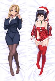 JK and Erotic Convenience Store Manager Virgin Mother Dumplings Anime Dakimakura Pillow Cover