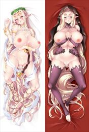 Kuroinu ~ Kedakaki Seijo wa Hakudaku ni Somaru ~ Celestine Lucross Anime Dakimakura Pillow Cover sm2282