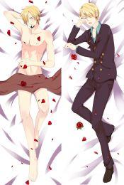 Sanji x Male Anime Dakimakura Japanese Pillow Cover